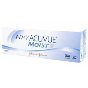 1•DAY ACUVUE® MOIST® (30 leč)